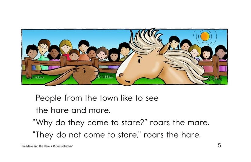 Book Preview For The Mare and the Hare Page 5