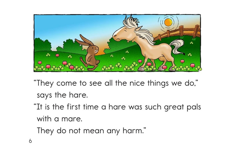 Book Preview For The Mare and the Hare Page 6
