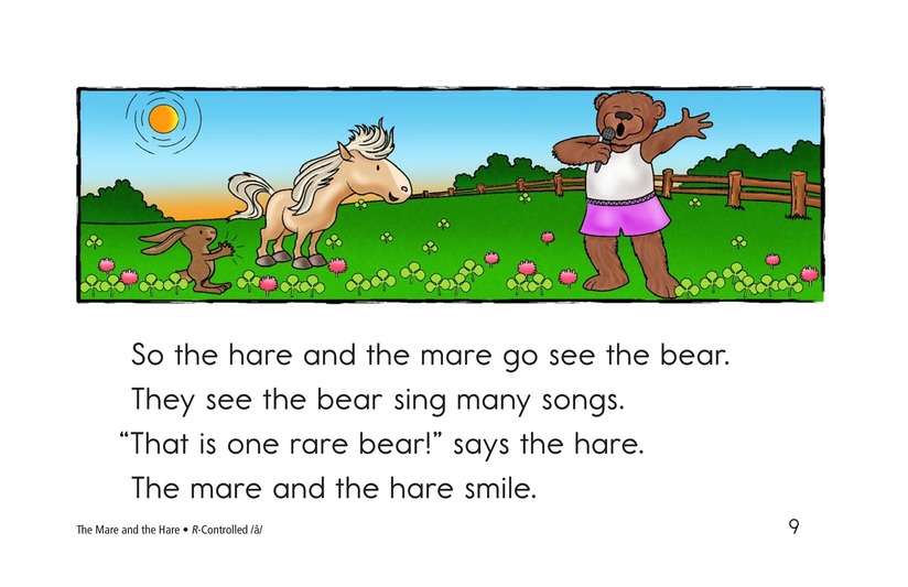 Book Preview For The Mare and the Hare Page 9