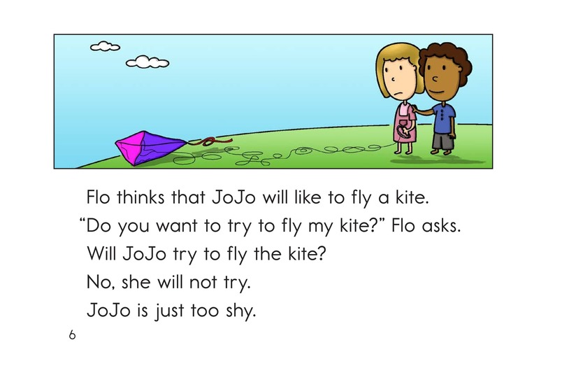 Book Preview For JoJo Gets a Yo-Yo Page 6
