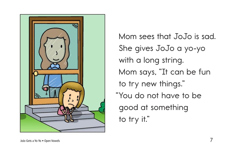Book Preview For JoJo Gets a Yo-Yo Page 7