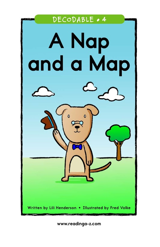 Book Preview For A Nap and a Map Page 1