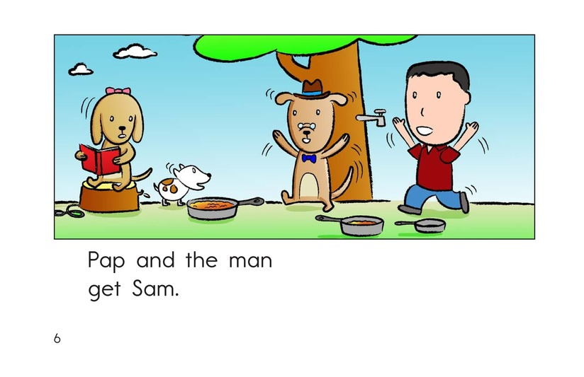 Book Preview For Sam and the Sap Page 6