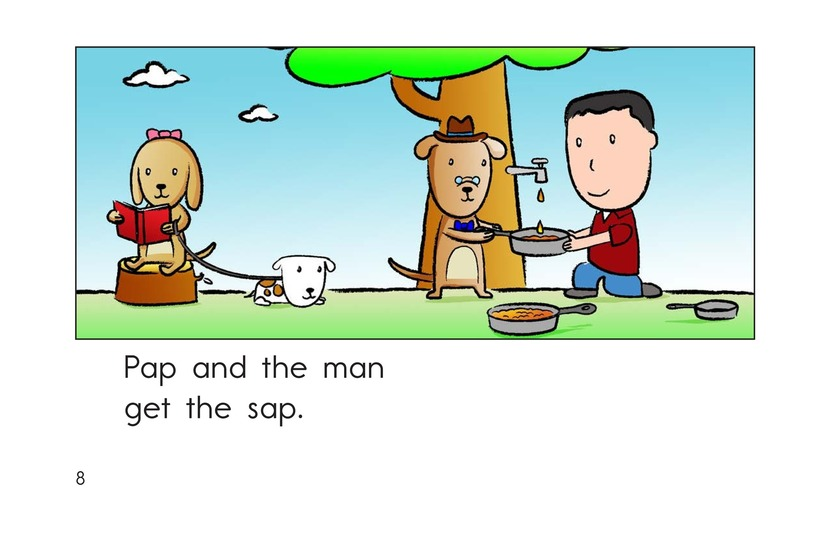 Book Preview For Sam and the Sap Page 8