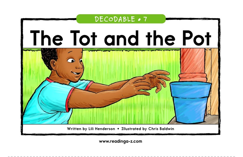 Book Preview For The Tot and the Pot Page 1