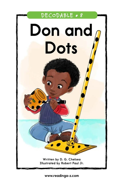 Book Preview For Don and Dots Page 1