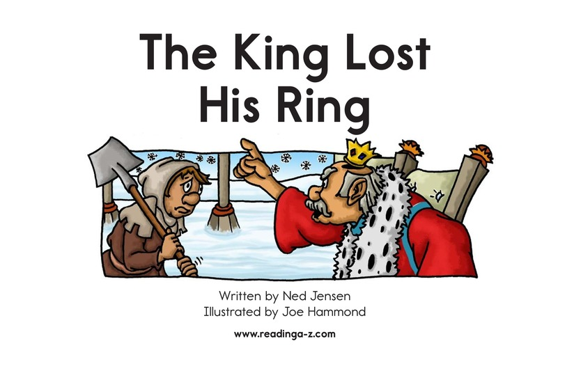 Book Preview For The King Lost His Ring Page 2