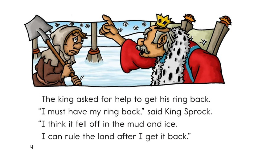 Book Preview For The King Lost His Ring Page 4