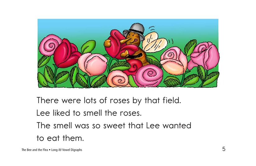 Book Preview For The Bee and the Flea Page 5