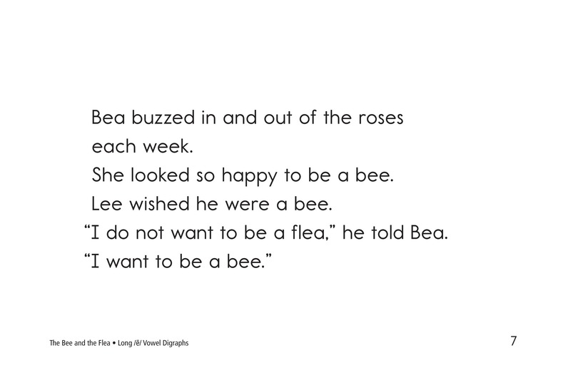 Book Preview For The Bee and the Flea Page 7