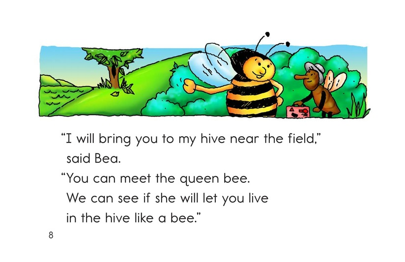 Book Preview For The Bee and the Flea Page 8