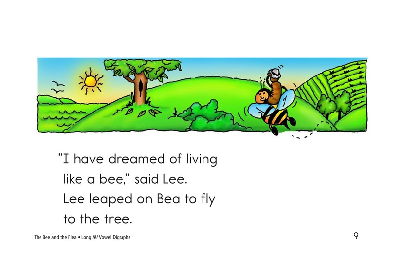 Book Preview For The Bee and the Flea Page 9