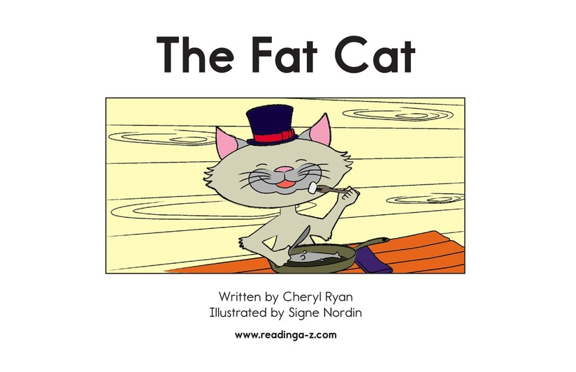 Book Preview For The Fat Cat Page 2