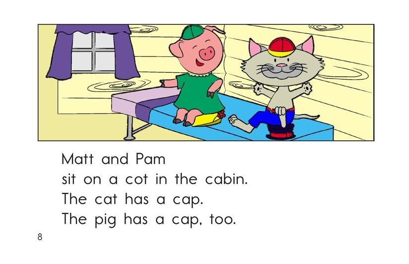 Book Preview For The Fat Cat Page 8