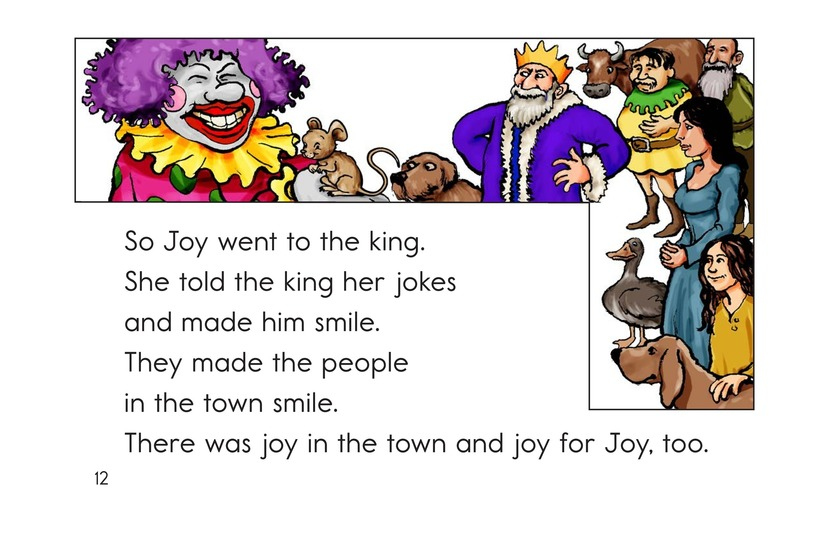 Book Preview For The Clown Who Lost Her Smile Page 12