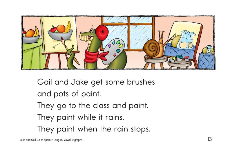 Book Preview For Jake and Gail Go to Spain Page 13