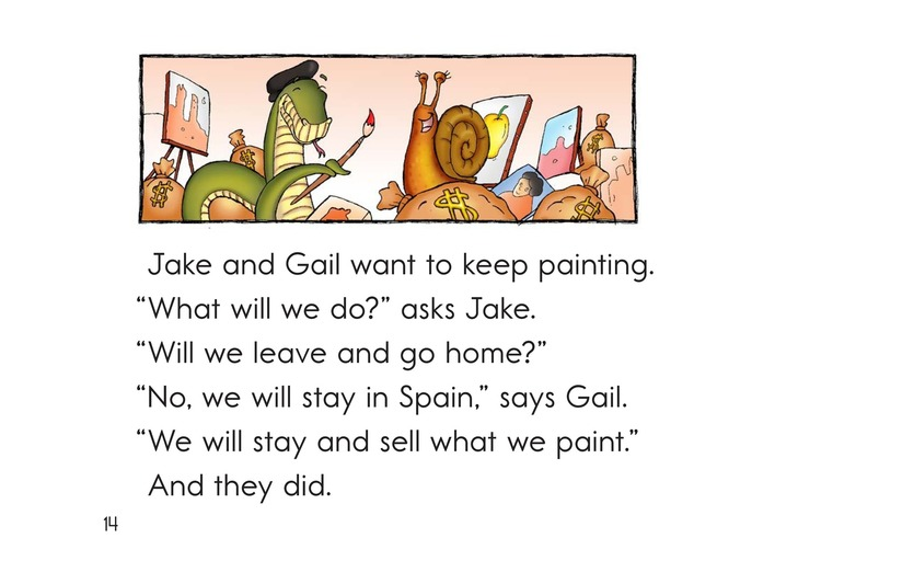 Book Preview For Jake and Gail Go to Spain Page 14
