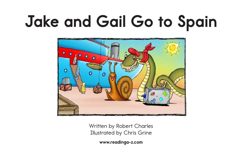 Book Preview For Jake and Gail Go to Spain Page 2