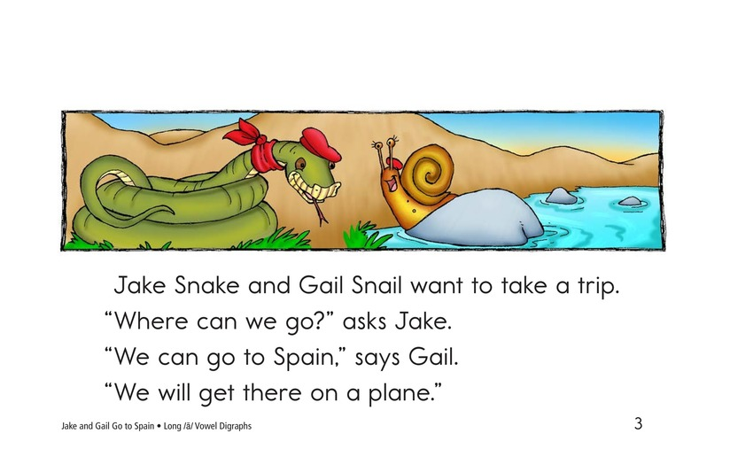 Book Preview For Jake and Gail Go to Spain Page 3