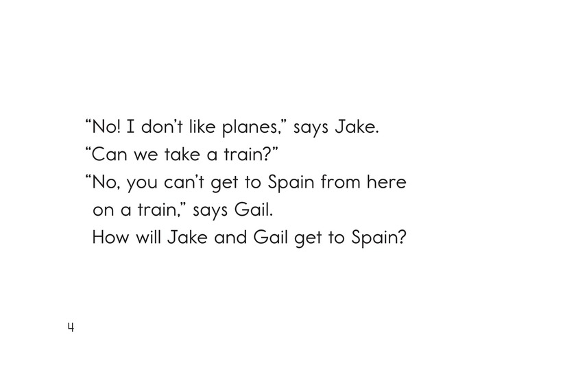 Book Preview For Jake and Gail Go to Spain Page 4