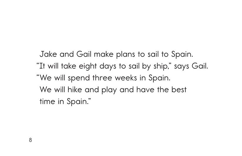 Book Preview For Jake and Gail Go to Spain Page 8