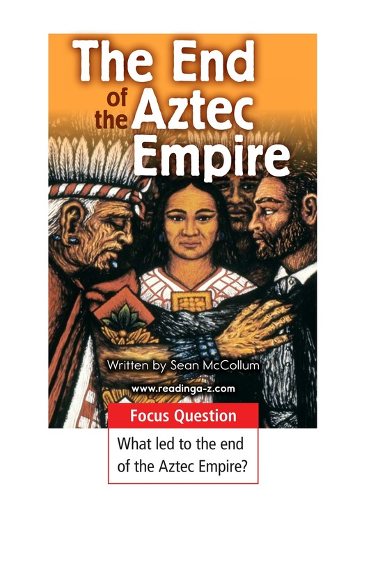 Book Preview For The End of the Aztec Empire Page 1