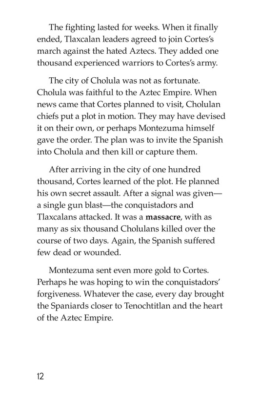 Book Preview For The End of the Aztec Empire Page 12