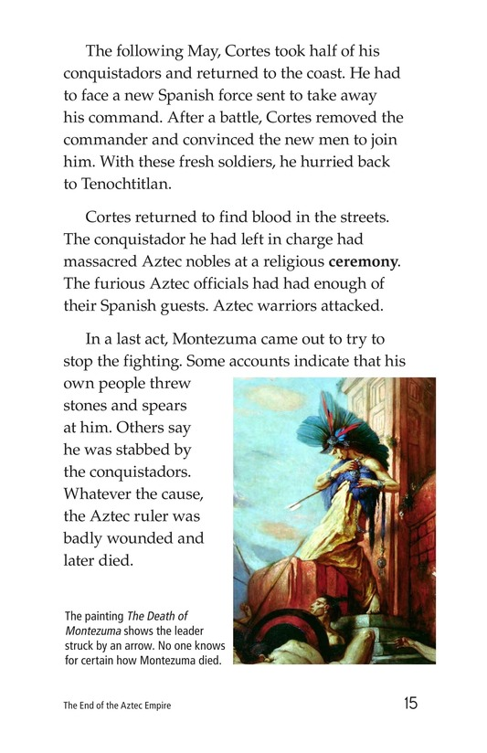 Book Preview For The End of the Aztec Empire Page 15