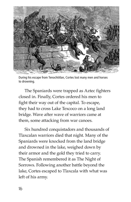 Book Preview For The End of the Aztec Empire Page 16