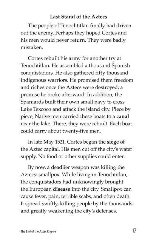 Book Preview For The End of the Aztec Empire Page 17