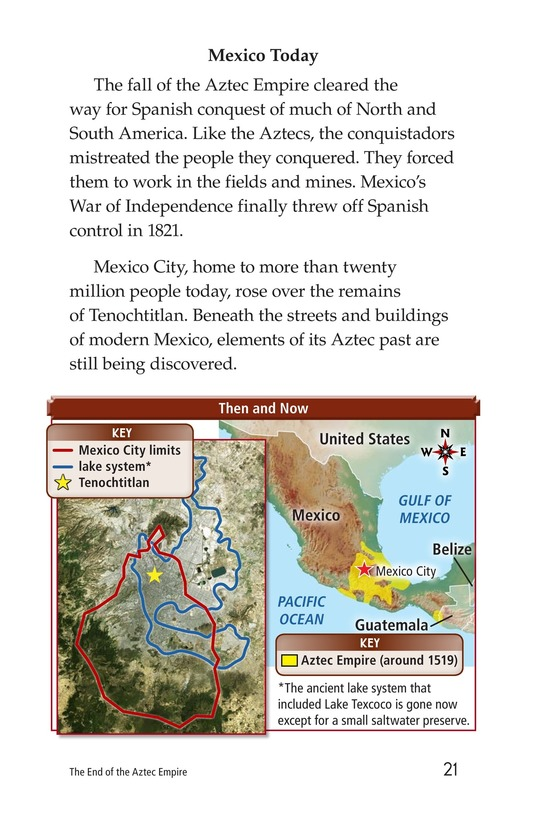 Book Preview For The End of the Aztec Empire Page 21