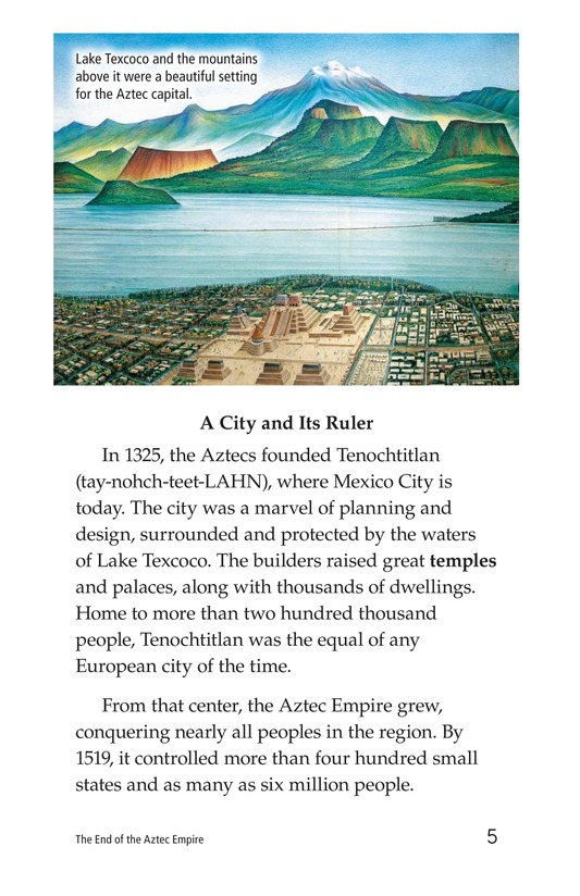 Book Preview For The End of the Aztec Empire Page 5