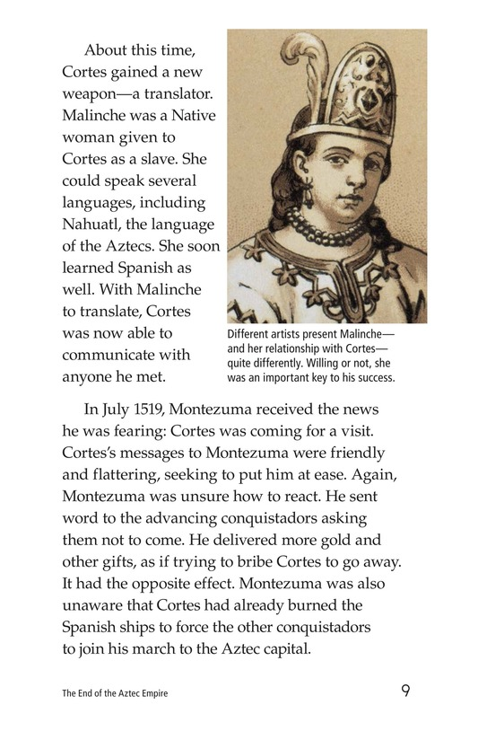 Book Preview For The End of the Aztec Empire Page 9