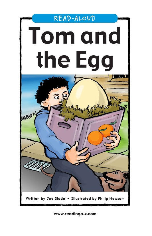 Book Preview For Tom and the Egg Page 1