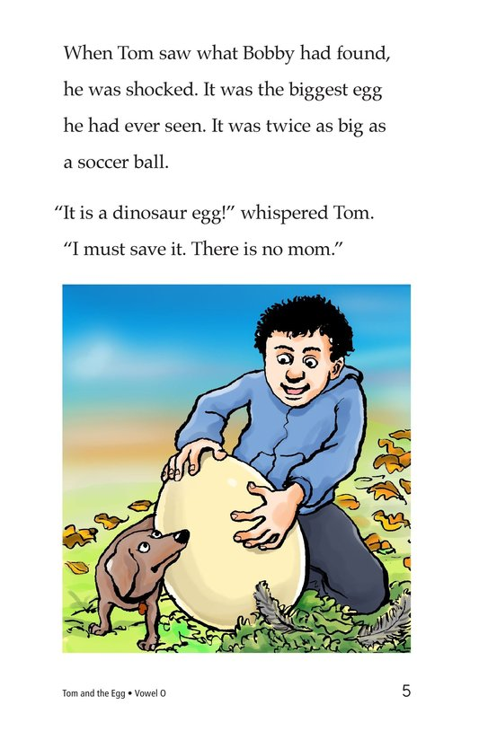 Book Preview For Tom and the Egg Page 5
