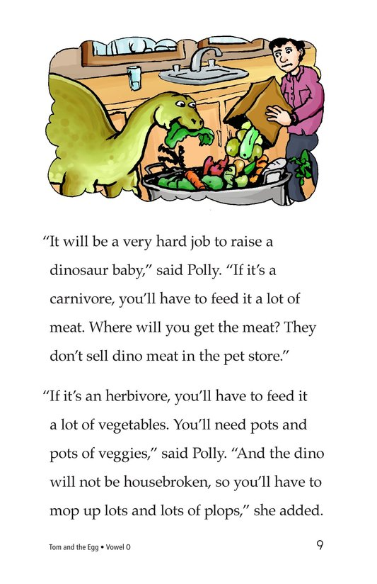 Book Preview For Tom and the Egg Page 9