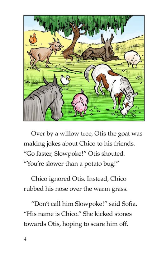 Book Preview For Chico Sees a Ghost Page 4