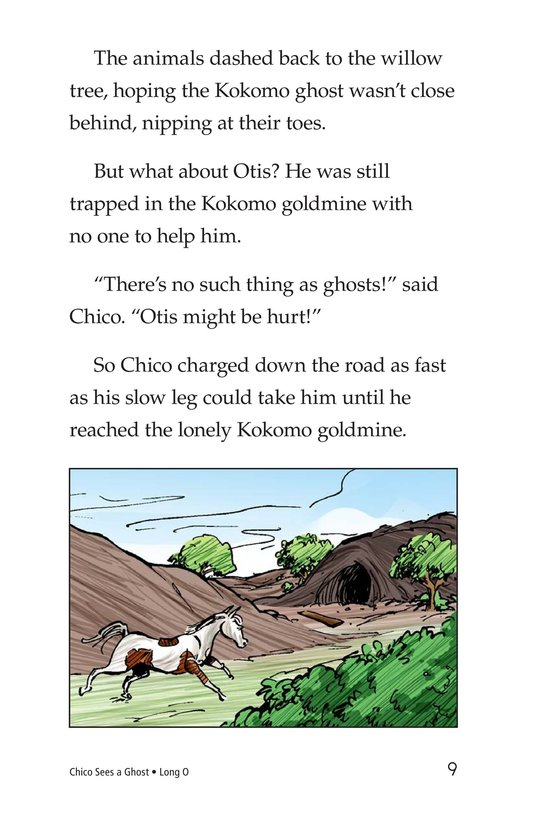 Book Preview For Chico Sees a Ghost Page 9