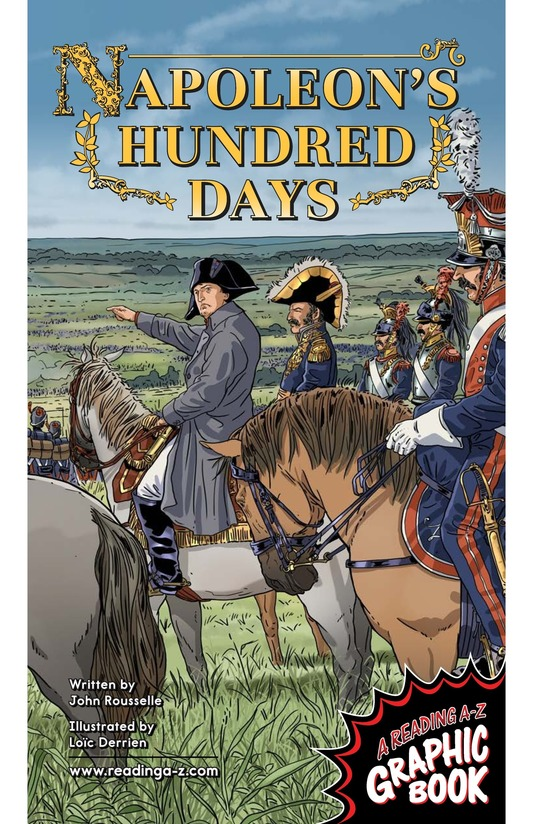 Book Preview For Napoleon's Hundred Days Page 1