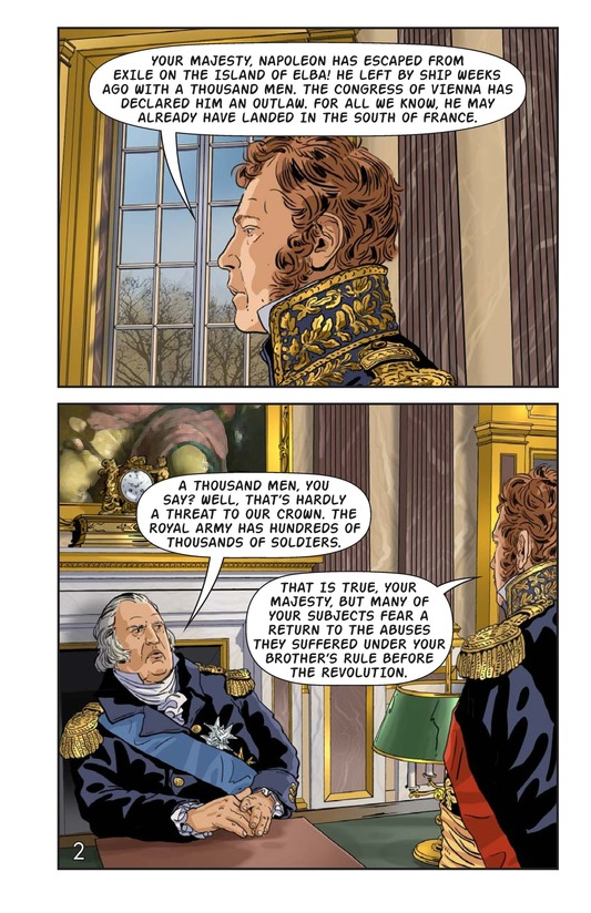 Book Preview For Napoleon's Hundred Days Page 3