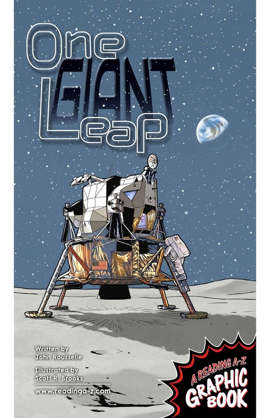 Book Preview For One Giant Leap Page 1