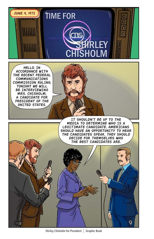 Book Preview For Shirley Chisholm for President Page 10