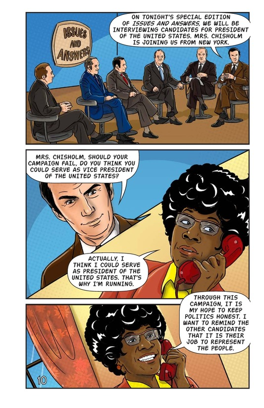 Book Preview For Shirley Chisholm for President Page 11