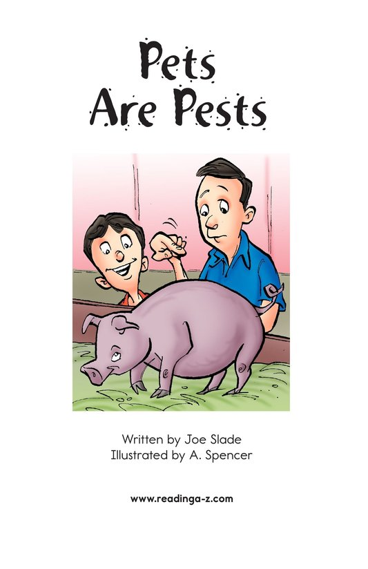 Book Preview For Pets Are Pests Page 2