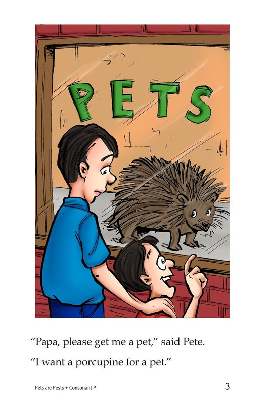 Book Preview For Pets Are Pests Page 3