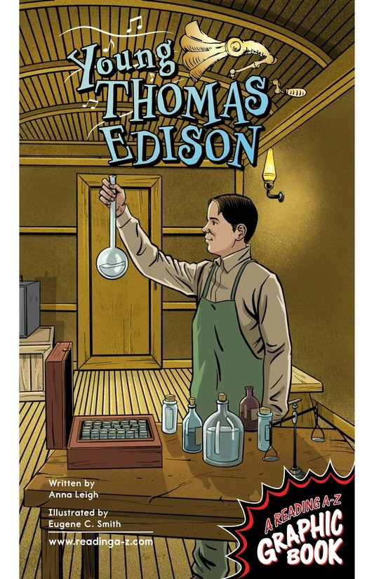 Book Preview For Young Thomas Edison Page 1