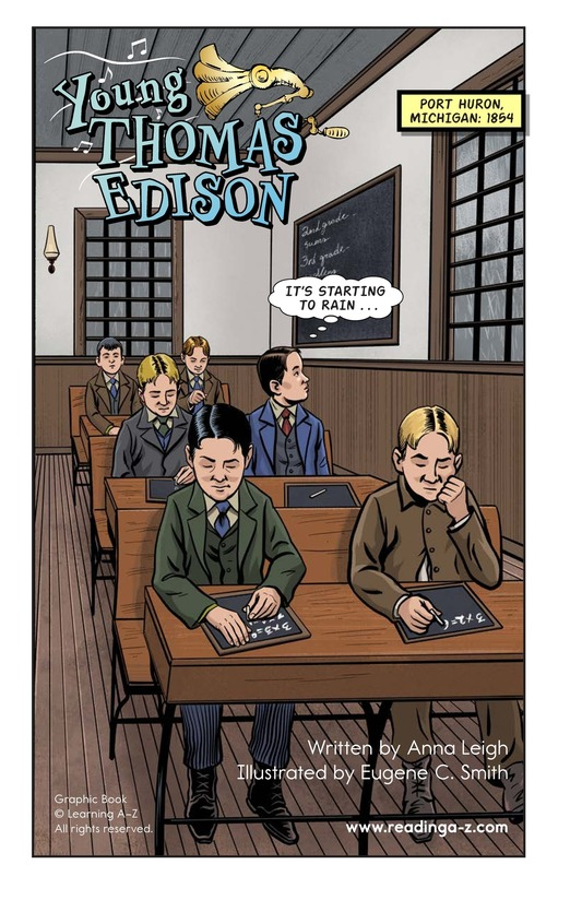 Book Preview For Young Thomas Edison Page 2