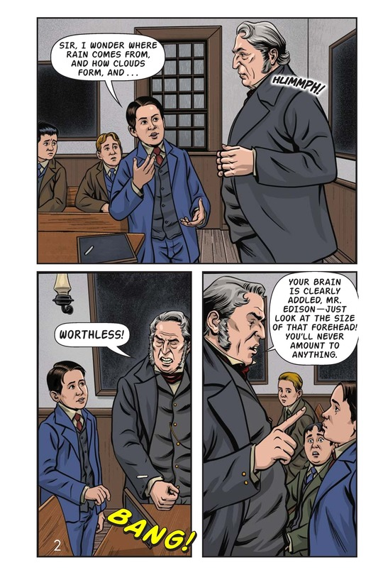 Book Preview For Young Thomas Edison Page 3