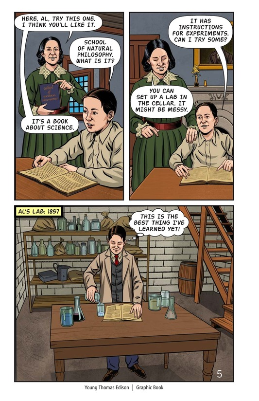 Book Preview For Young Thomas Edison Page 6