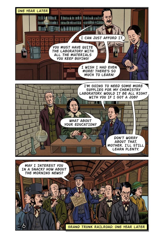 Book Preview For Young Thomas Edison Page 7